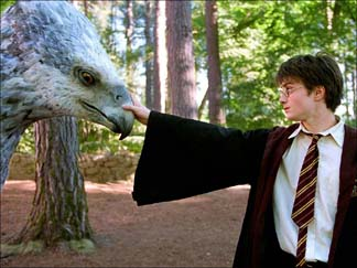 Harry Potter and Buckbeak