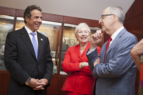 Andrew Cuomo, Nancy Zimpher and David Skorton