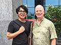 Timothy Murray and Hua Chaorong