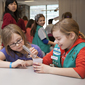 Girl Scouts explore science, earn badges on campus