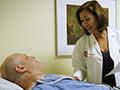 Dr. Erica Jones and patient