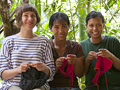 Student knits Filipino women into skilled workers