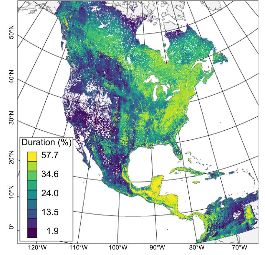 Habitat loss, climatethreaten eastern forest birds
