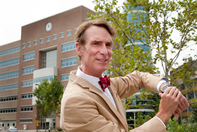 bill nye 77 harnesses the sun with clock atop rhodes hall cornell