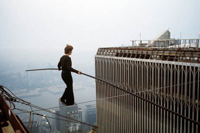 High Wire Artist Philippe Petit Nothing Is Impossible