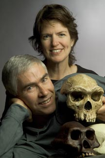 Paul Sherman and his wife, scientist Janet Shellman