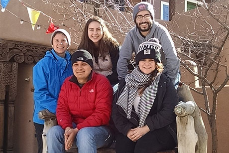 students in Taos
