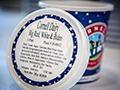 Biden ice cream label