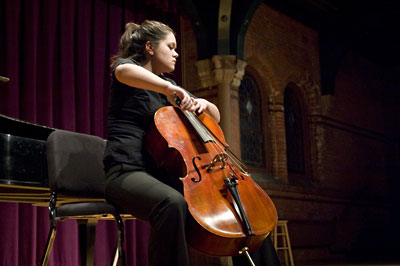 Cellist Adrianne Ngam Wins Concerto Competition Cornell