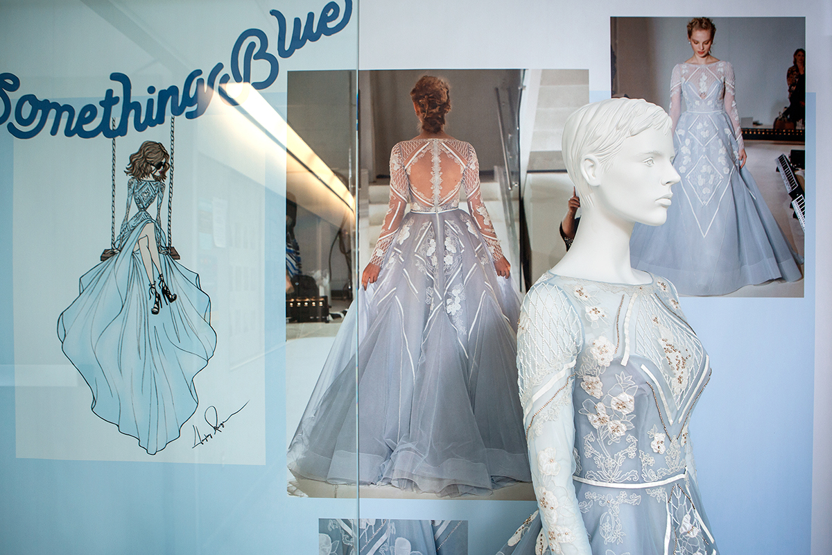 Undergrad Curates Historical Exhibition Of Wedding Gowns