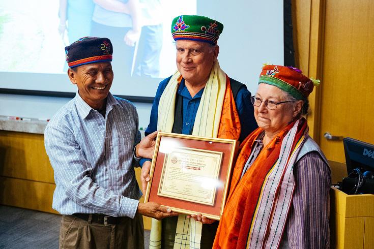 Suryaman Tamang, David Holmberg and Kathryn March