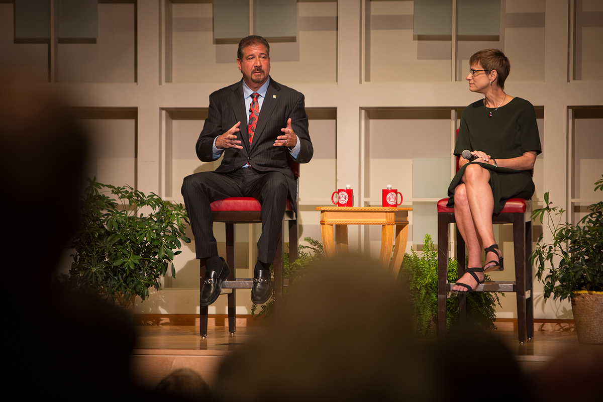 build a diverse team for a diverse world weinberger urges jason koski university photography mark weinberger