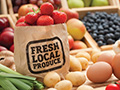 locally produced foods