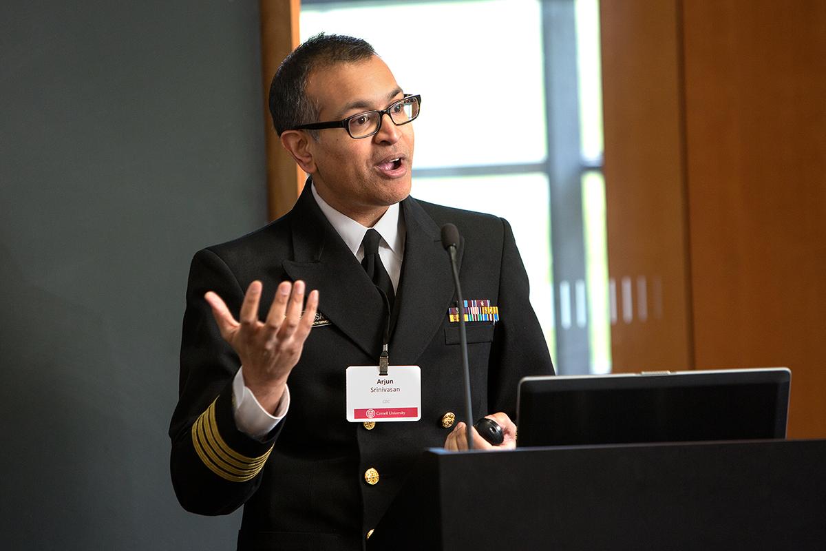 Dr. Arjun Srinivasan, CDC