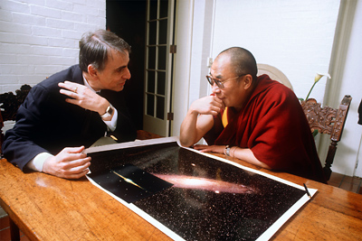 ผลการค้นหารูปภาพสำหรับ dalai lama carl sagan