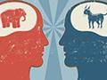 GOP head vs. Democrat head