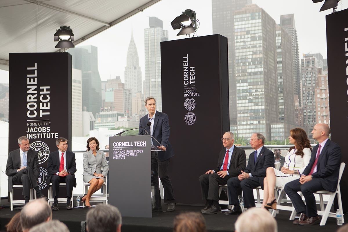 100m Gift Names Bloomberg Center At Cornell Tech Cornell Chronicle
