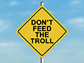 troll sign