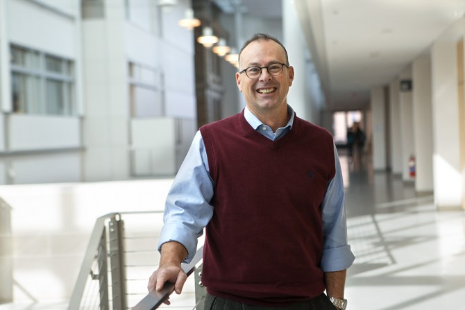 Craig Wiggers, director of administration in physics (PHYS)