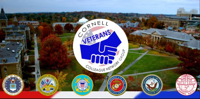 Cornell Veterans Colleague Network Group logo