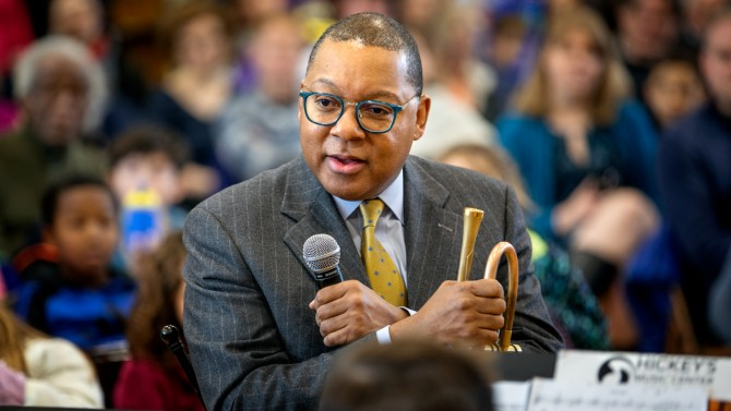 Wynton Marsalis at BJM