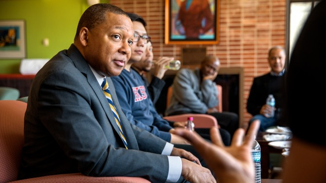 Marsalis at Africana Center