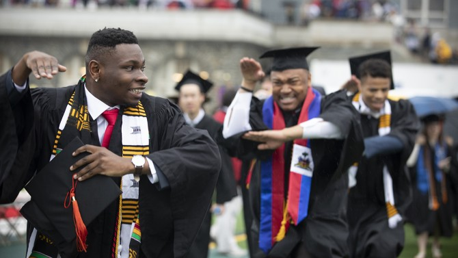 dancing into commencement