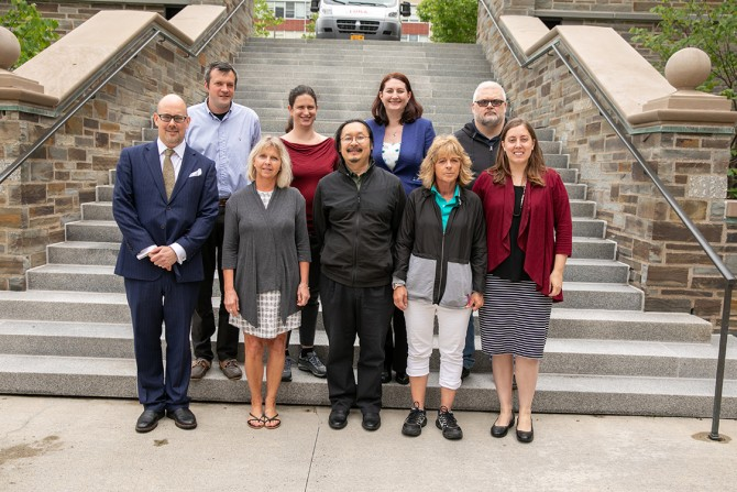 Law School staff and faculty honored for service