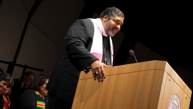 The Rev. William J. Barber II