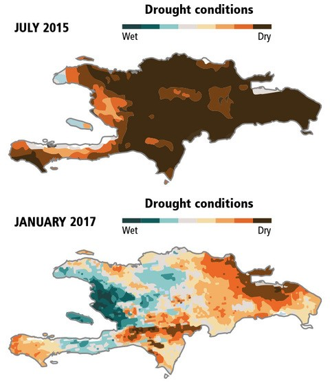 Drought on Hispaniola