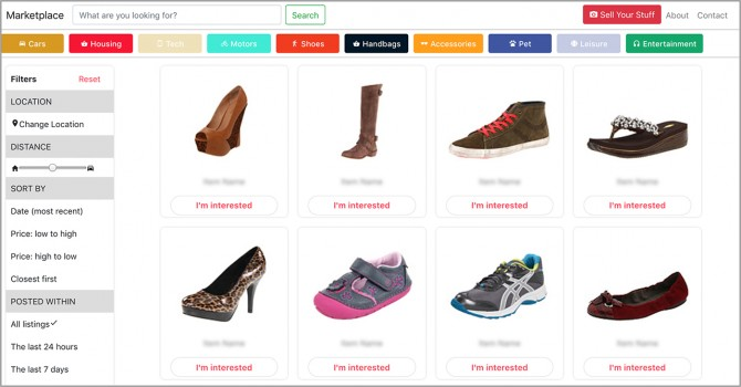Stock images of shoes