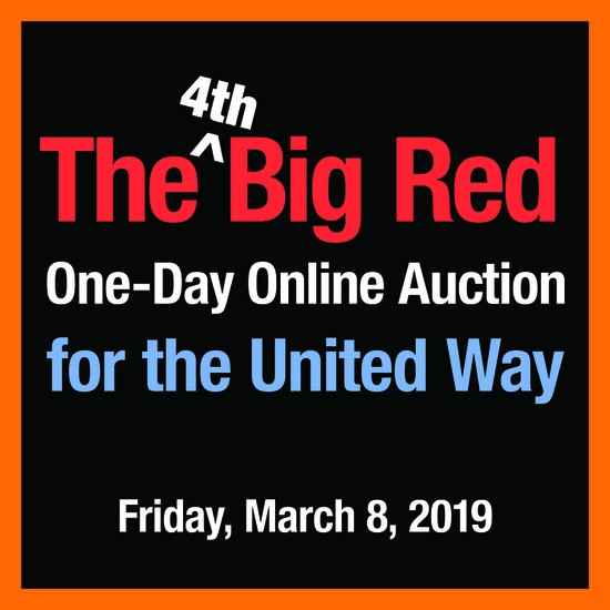 United Way auction poster