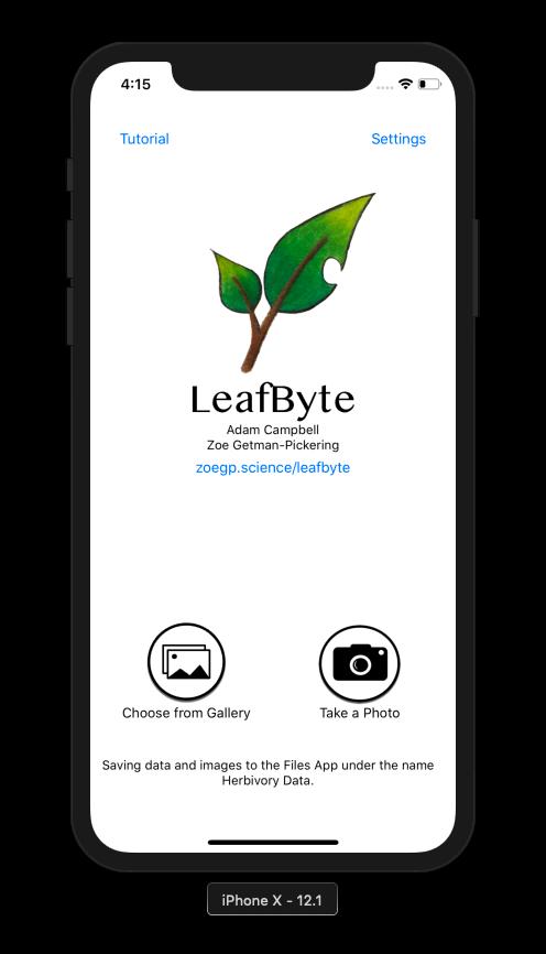 LeafByte app