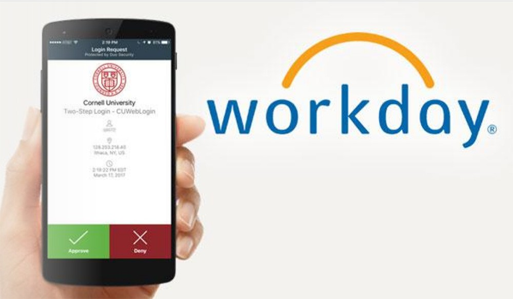 Workday time tracking to replace Kronos January 4 | Cornell