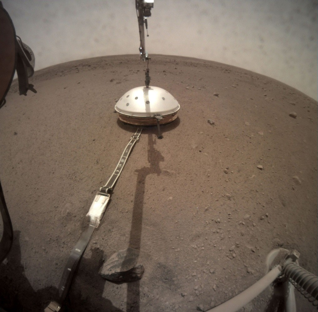 NASA's Mars InSight Lander Provides Daily Weather Report On Red Planet