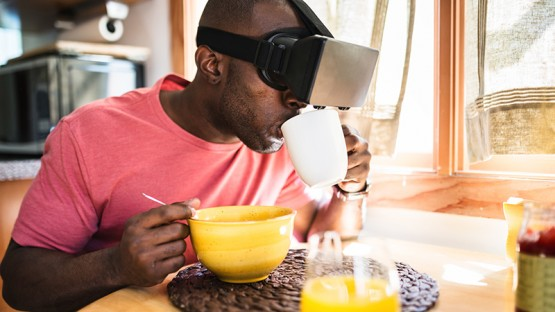 Eating with your eyes: Virtual reality can alter taste