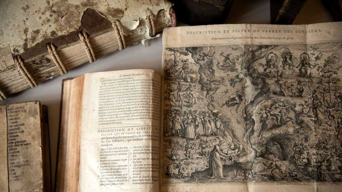 cornell witchcraft collection exhibition opens on halloween