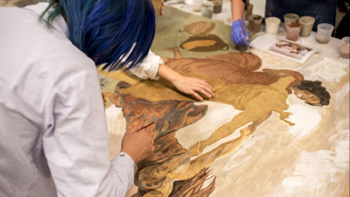 Cornell artists win global soil painting competition | Cornell Chronicle