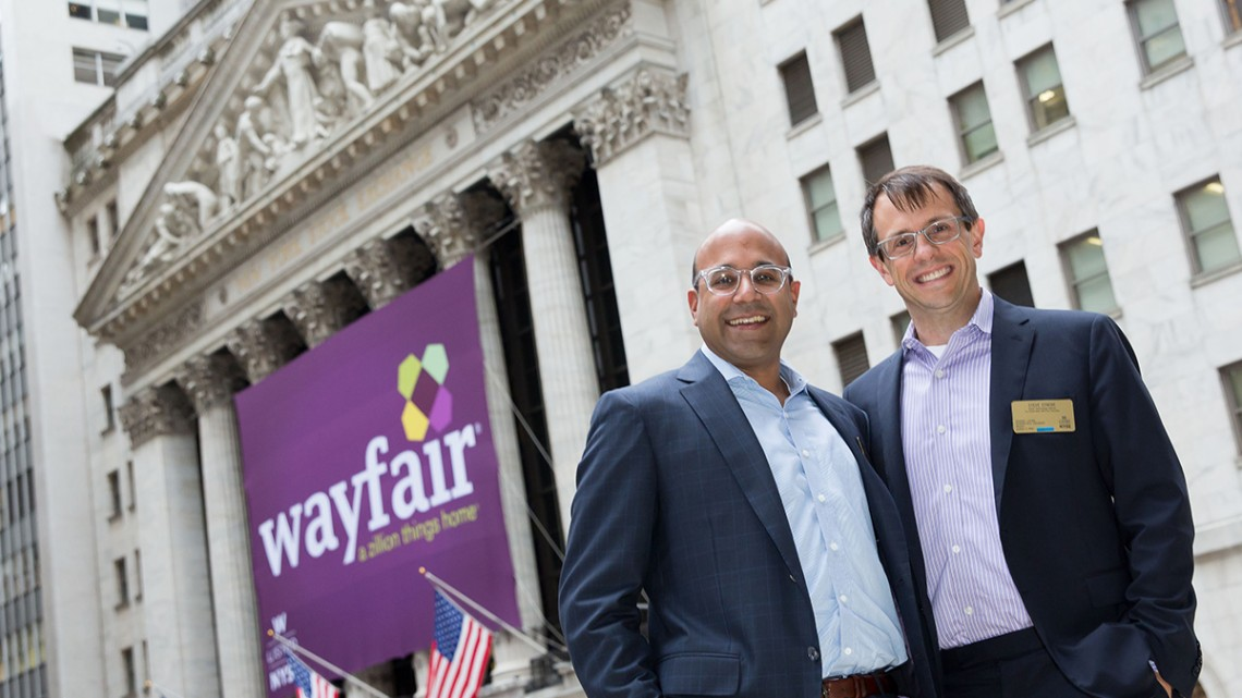 Wayfair founders