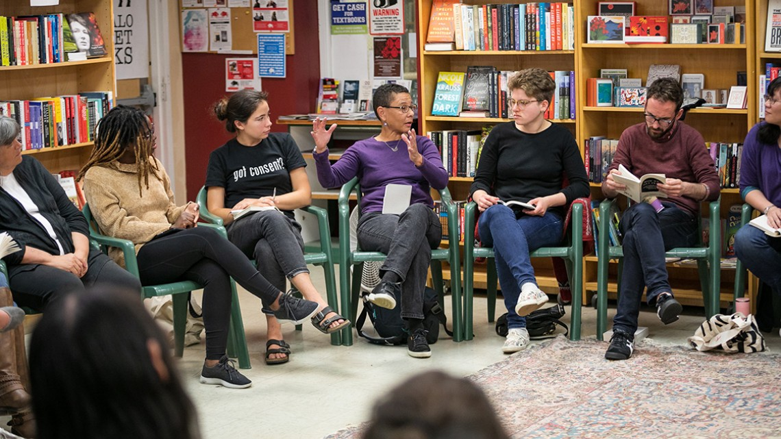 participants in The Future is Feminist: A Feminist Theory Book Club