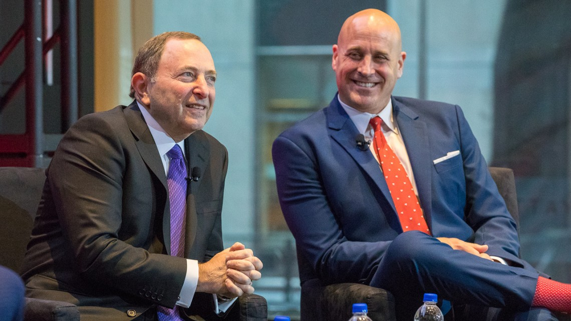 Gary Bettman and Michael Levine