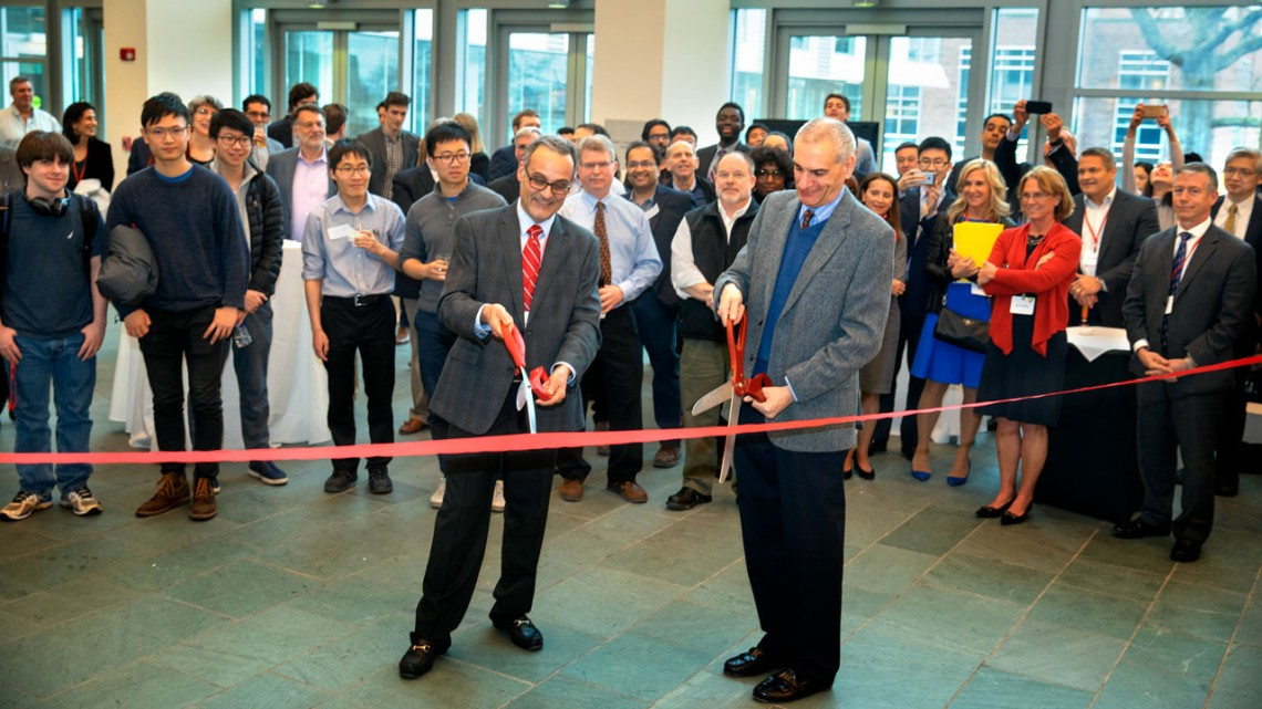 Praxis ribbon cutting