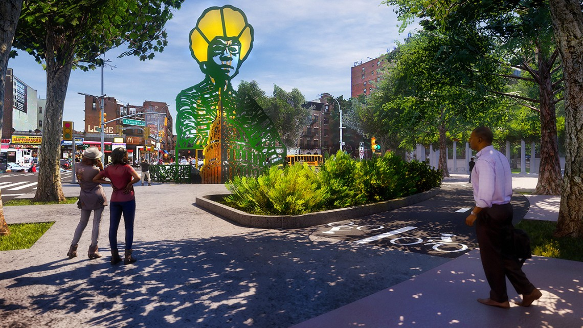AAP instructors' Chisholm monument to rise in Brooklyn ...