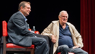 Dean smith and John Cleese