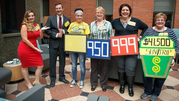 """The Price is Right,"" featuring staff from JCB Human Resources"