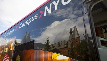 Campus-to-campus bus
