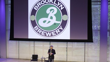 Alum Steve Hindy of Brooklyn Brewery speaks at Entrepreneurship at Cornell's Summit