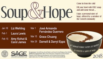 Soup and Hope speaker lineup