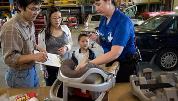 child safety seat checks