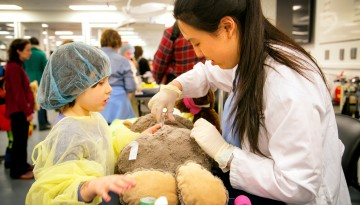 stuffed animal checkup
